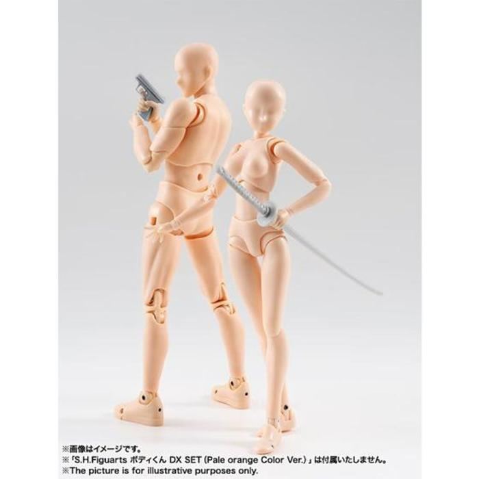 S.H.Figuarts ボディちゃん DX SET(Pale orange Color Ver.)